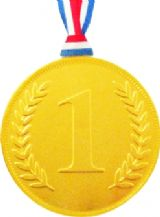 Milk Chocolate No.1 Medal